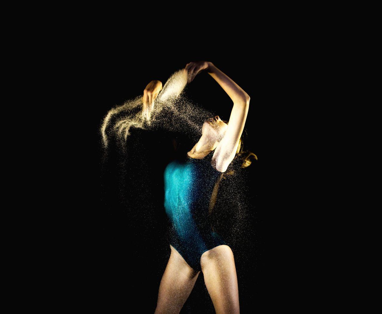Studio Shot Elégance Photo Session Dancer