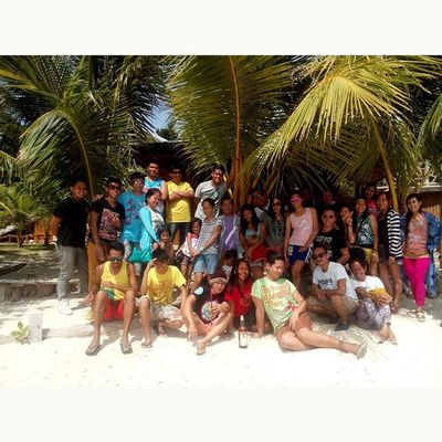 It should always be on our white sand beaches... Despedida Bonding Beach Sanjuanian Bugwas MysticSiquijor Siquijor. SquareInstaPic visitPH2015