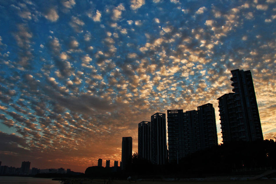 Architecture BEIJING北京CHINA中国BEAUTY Building Exterior City Cityscape Cloud - Sky Clouds Day Holiday No People Outdoors Sea Sky Skyscraper Sunset Travel Travel Destinations Urban Skyline Zhuhai The City Light