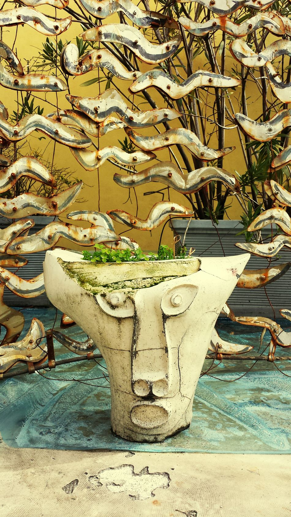 Milan Roof Garden Carla Sozzani Gallery Amazing roof garden in carla sozzani's gallery, I'd spend all my afternoons there