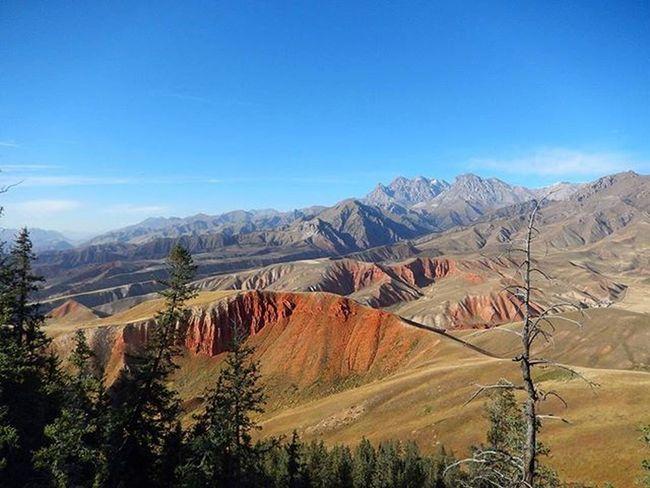 卓尔山 丹霞地貌 China Chinamountain Zhuoermountin Chinatour Qilian Qinghai