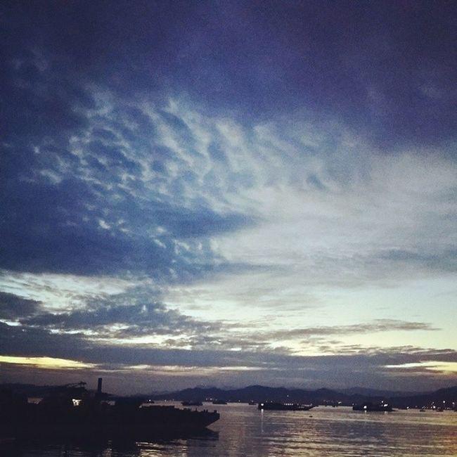 Sunrise in Penang, sunset in Langkawi... Wonderfulpenang Naturallylangkawi Jettypointkuah