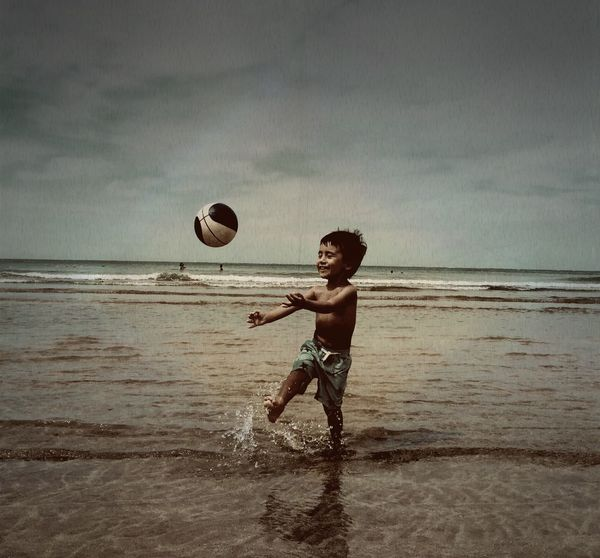 ..a son of a juggler is a natural juggler Hanging Out Enjoying Life ..beach Art Emography Portrait Tiny Island