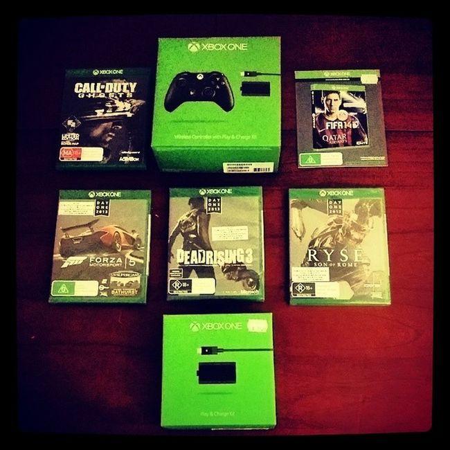 BOOM!!!!! XboxOne Xbone Codghosts DeadRising3 Fifa14 Ryse Forza5  Nextgen Horny
