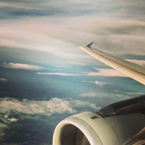 Leaving Saxony behind. Flyingcgn Geranwings NonstopMe4U