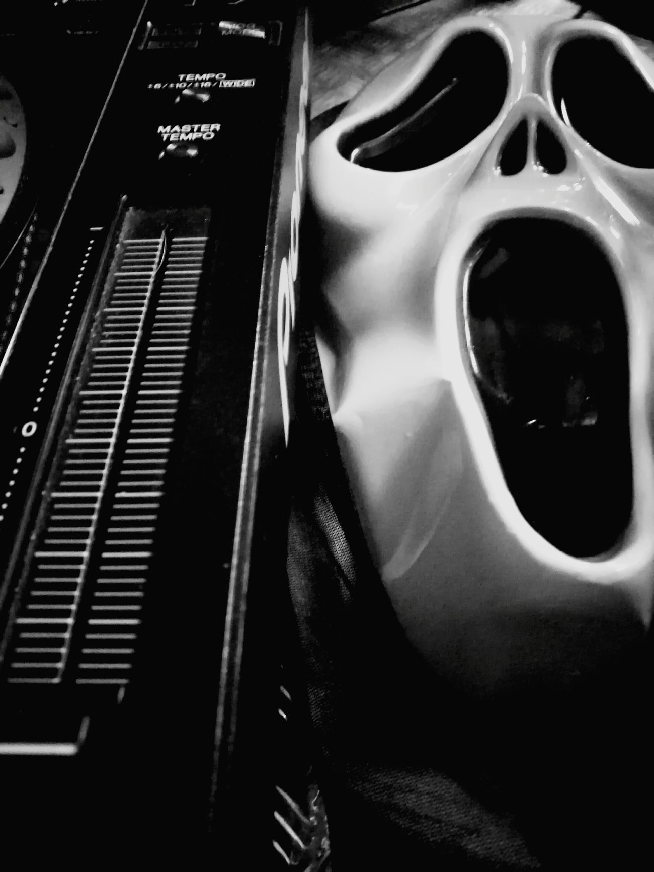 Music Musical Instrument Close-up Indoors  No People Performance Day Halloween Techno Music Nightlife Mask Disguise Phone Photography Outdoors City Musical Equipment Chemicalbrothers