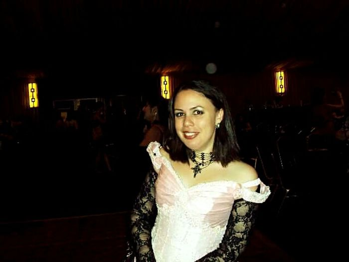 Gothic Beauty  Gothicgirl Gorgeouswoman Bestfriend ♥ Firstball Beautifuldress Twicon Funtimeswithfriends Awesomememories Favoritememories Neverforgettingthismoment Sisterofmyheart<3