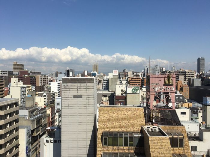 OSAKA April Sunny Day Nipponbashi Osaka Sunroute Hotel