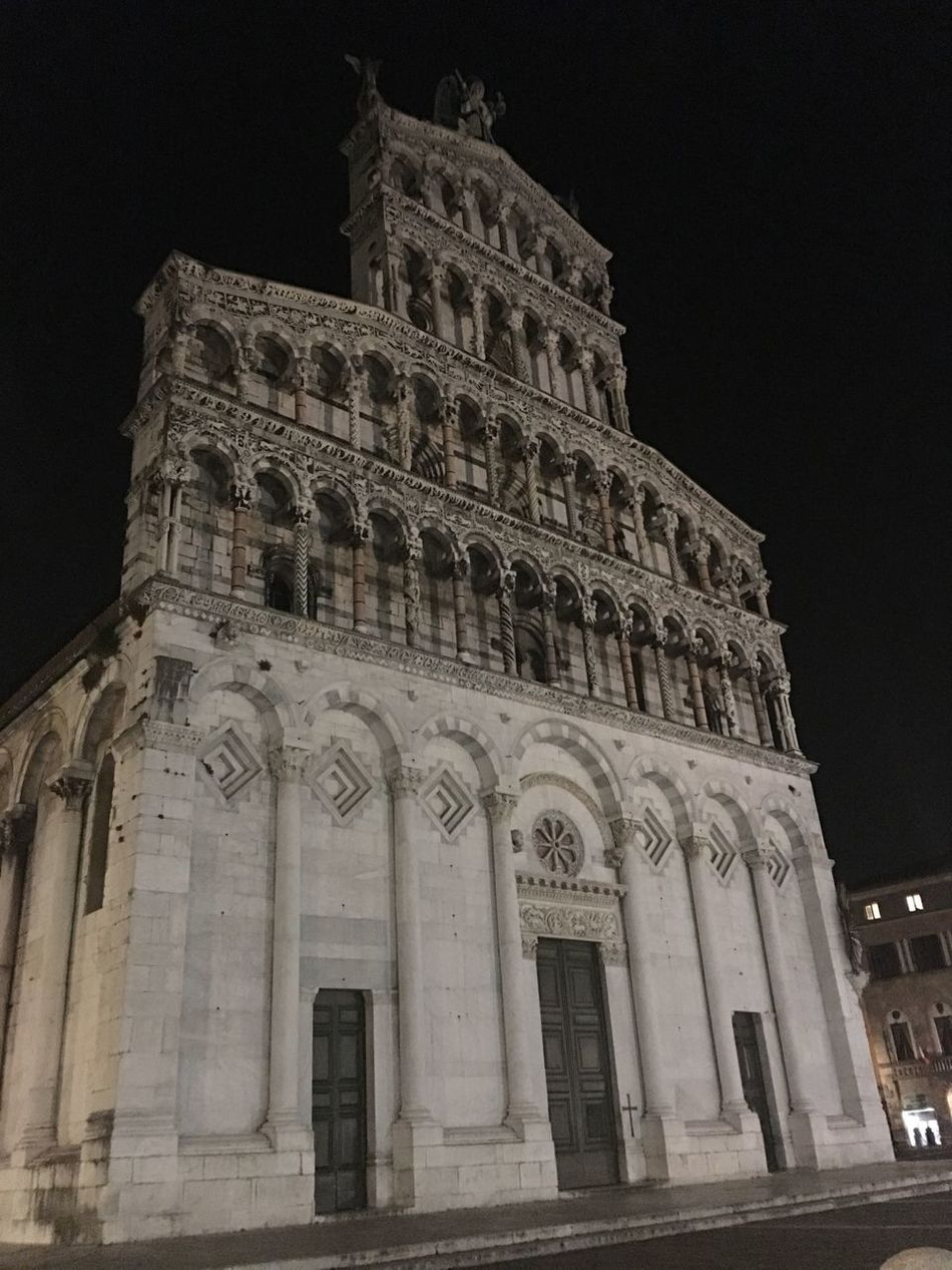San Michele In Foro Lucca Tuscany Italy Archangel Michael Basilica Churches