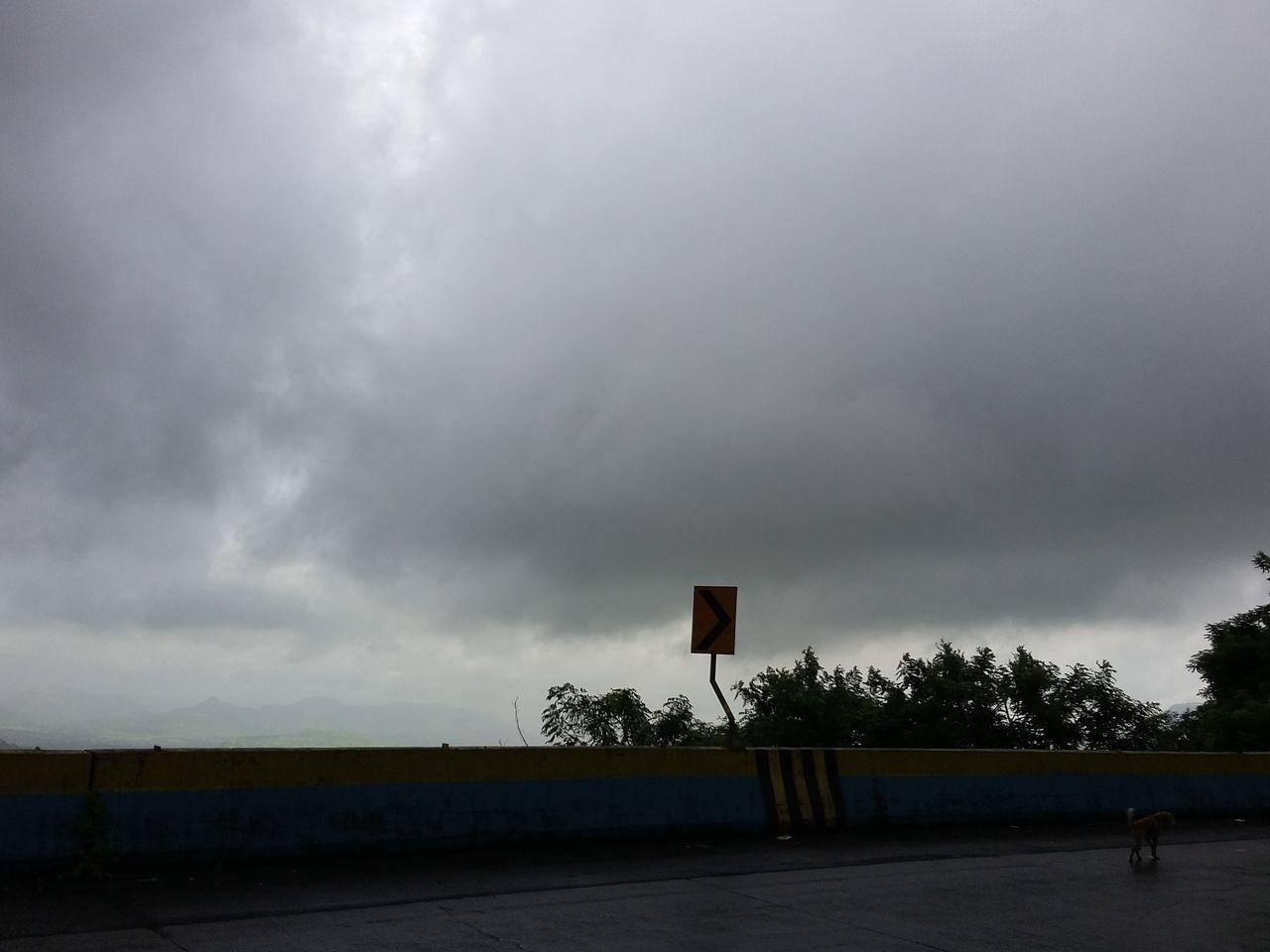 cloud - sky, sky, basketball - sport, basketball hoop, sport, court, outdoors, day, tree, storm cloud, nature, no people
