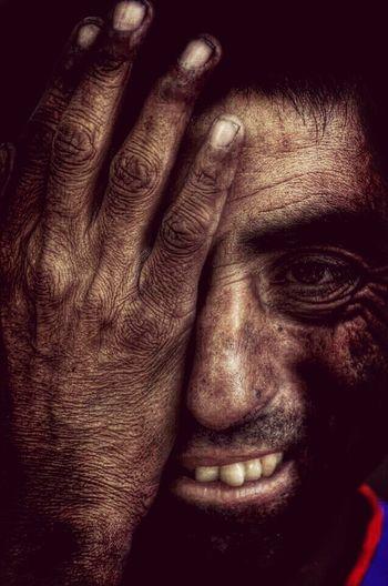 Juan Carlos Cabrera, hombre sin hogar, ciudad de Mendoza Taking Photos