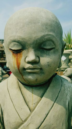 Buddha Image Buddha Statues Buddha Head Tearsofheaven Tears For You Buddah Statue Buddahcries Mysterious Eyes Stone Cries Tears Stone Of Silent Tears Taking Photos Artistic Eye Missing You Thinking About Life Thinking About Someone  HUMANITY