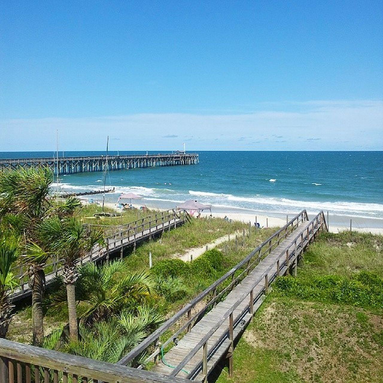 Most perfect day. SC♥ Pawleys Pawleysisland Beach Atlantic Ocean Sun SC