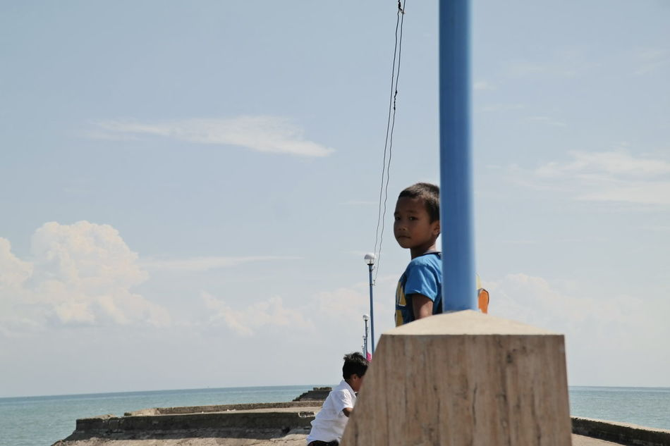 2015  Child Childhood Cloud - Sky Iloilo One Person Philippines Photography Real People Sky