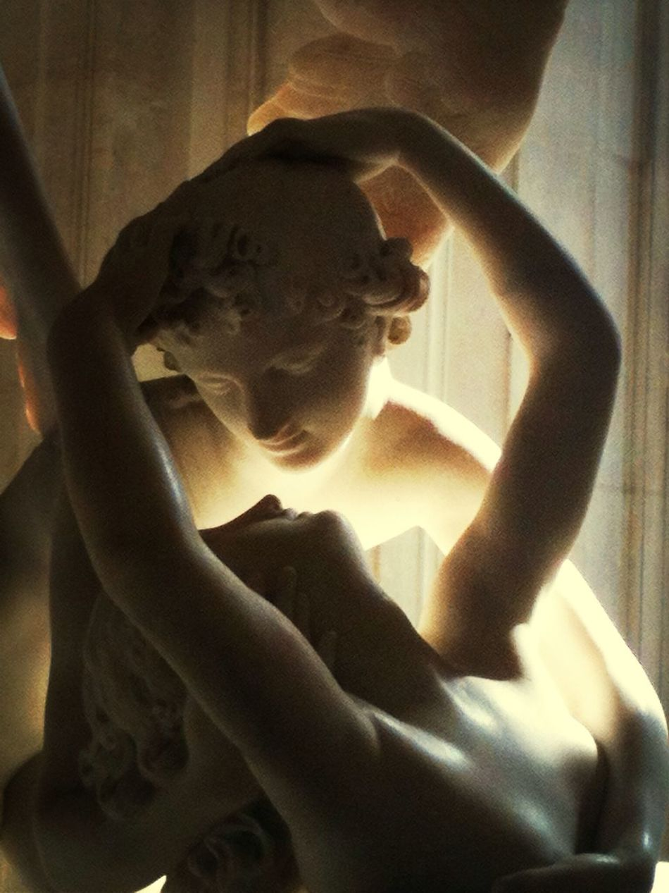 One of my favorite Sculptures Psyche Revived By Cupid's Kiss by Antonio Canova