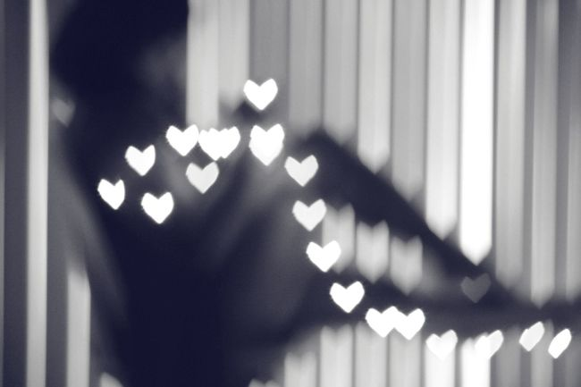 Hearts a' blur Bokeh Photography Check This Out Black And White EyeEm EyeEm Best Shots Light And Shadow Eyeemphoto