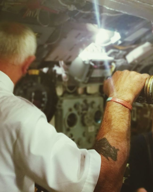 HERO Submarine Marine Marine Life Portsmouth Historic Dockyard History Man Selective Focus On Board Duty HuaweiP9 Huawei P9.