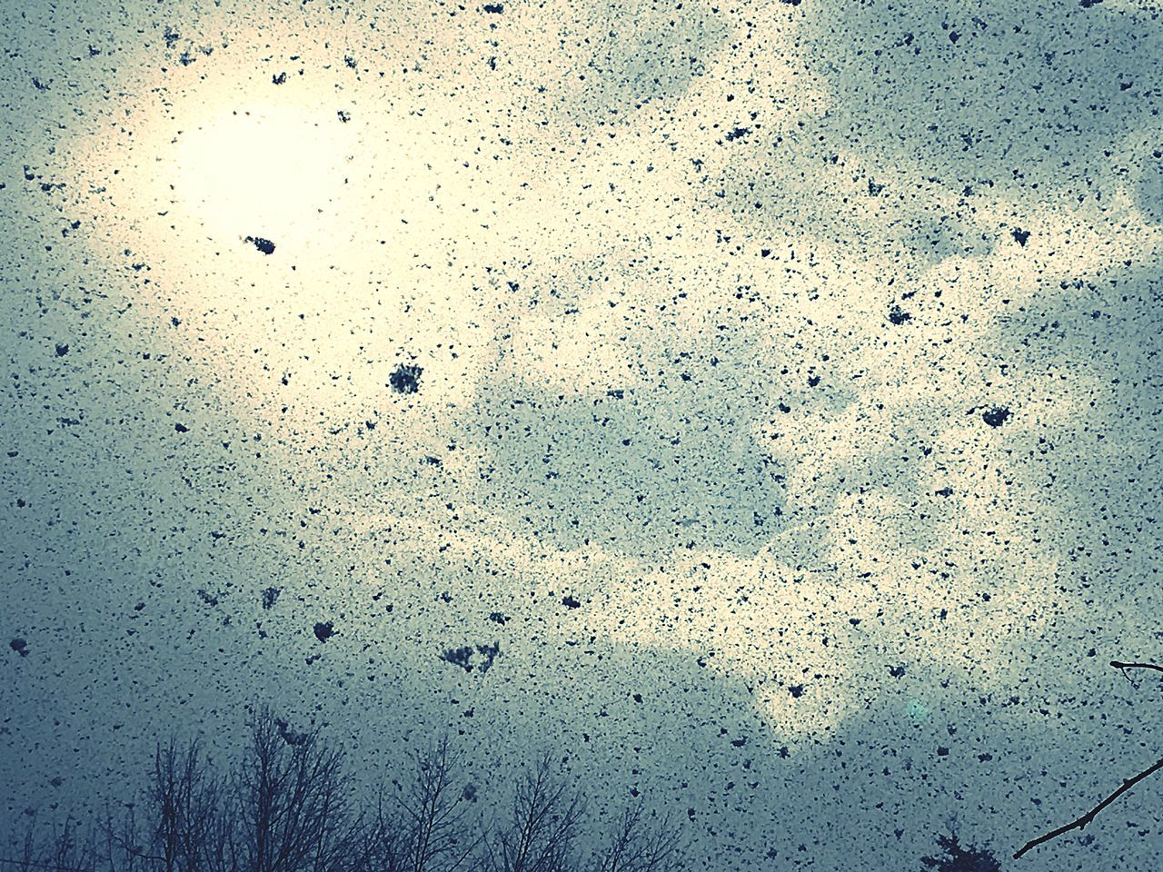No People Snow ❄ Sun Sky Nature Day Cloud Beauty In Nature Storm Cloud Moody Sky Snowflake