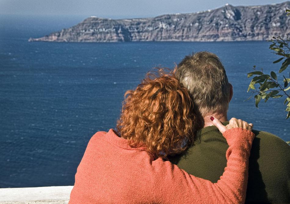 Beautiful stock photos of rosen, Aegean Sea, Affectionate, Arm Around, Blond Hair