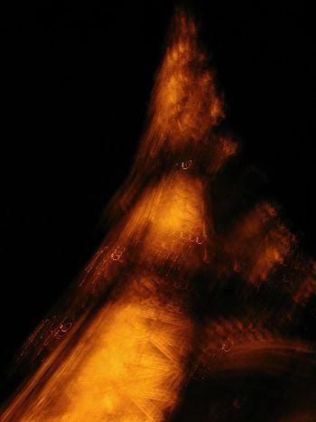 Paris Tour Eiffel Tour Eiffel, Paris. Black Background Blurred Motion Night No People Outdoors