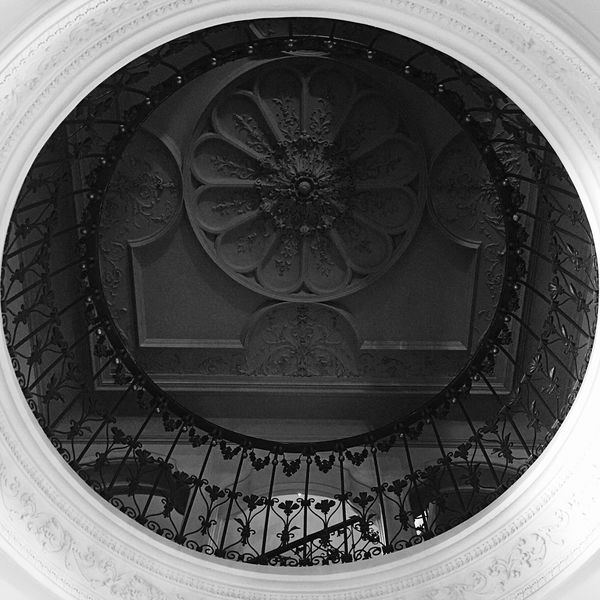 Torre del Remei Shootermag Lookingup Ceiling Blackandwhite Photography Eye4black&white  Black And White Blackandwhite Black & White Bw_collection Architecture_bw Architectural Detail Iphoneonly IPhoneography Iphonephotography EyeEm Gallery From My Point Of View