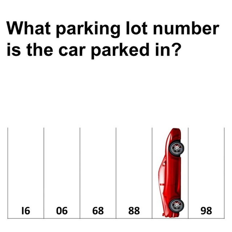 Can anyone guess the answer? Iamalexchan Parkinglotquiz