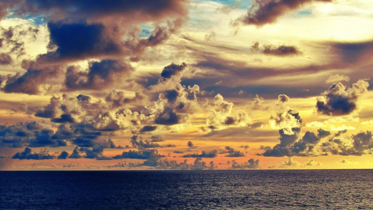 Sea Water Outdoors Sunset Scenics Horizon Over Water Beach Sky Beauty In Nature Seaview Seascape Photography Sea View Sea And Sky Cloud - Sky Beauty In Nature Sea_collection Ocean❤ Ocean View Ocean Photography Ocean And Sky Oceanographic Ocean Sunset