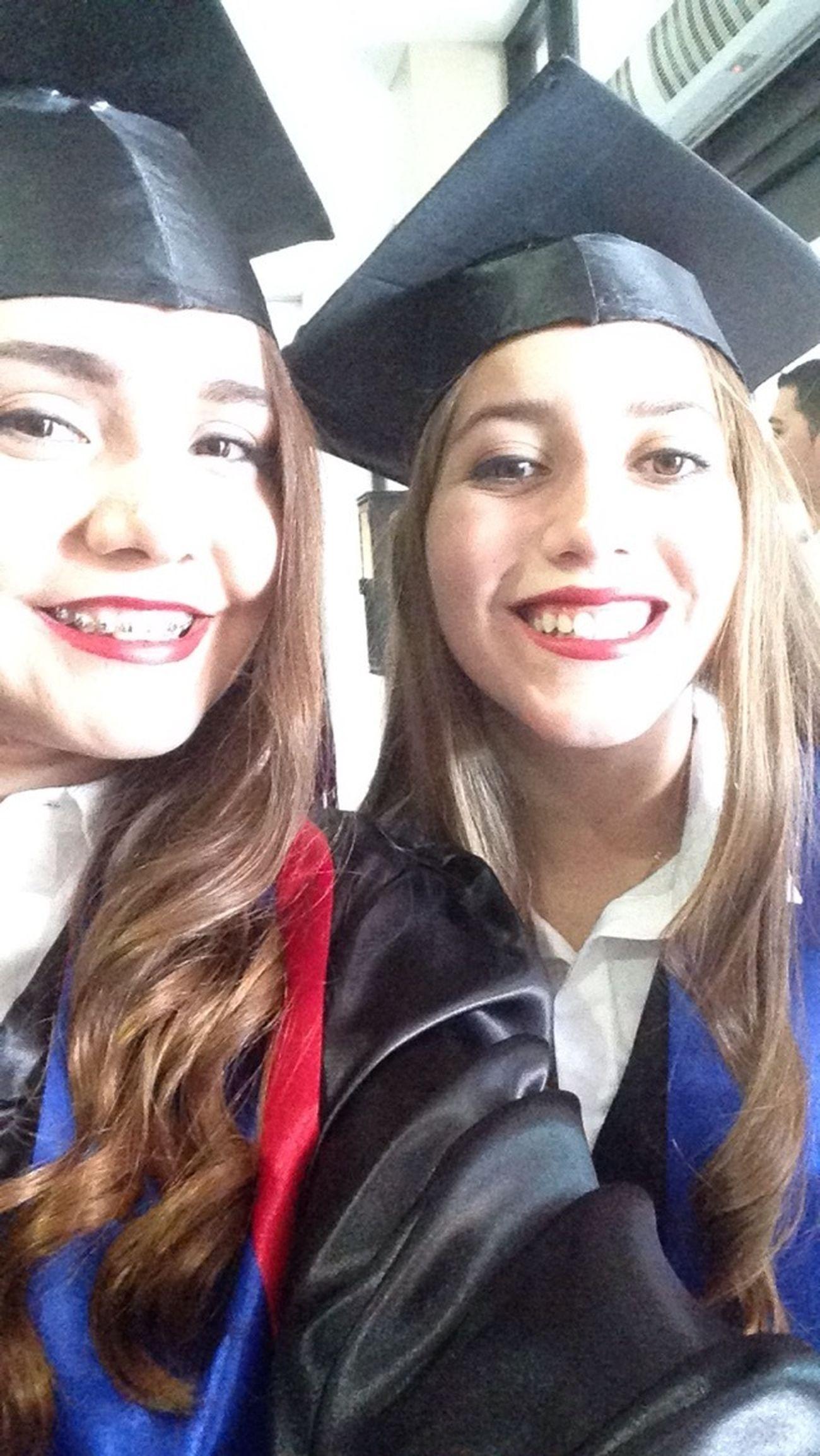 Graduated Graduation End School Beauty