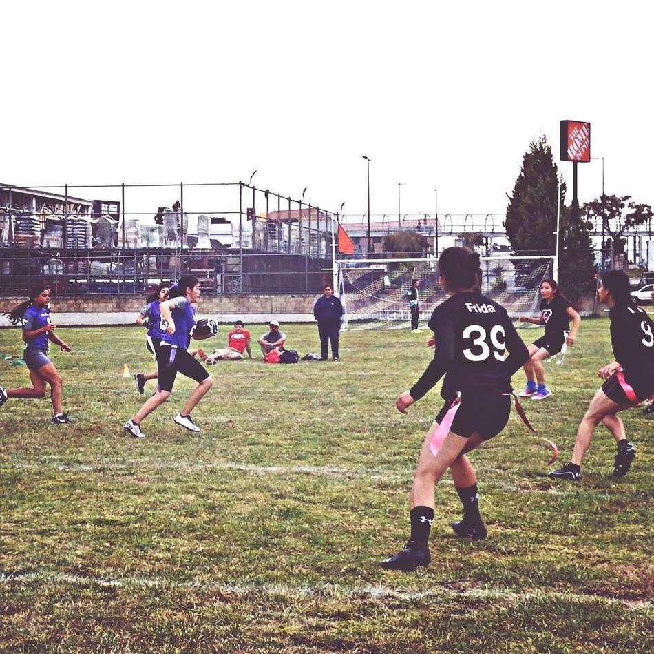 Flag Footballl LobosFootball Girl Last Game #21