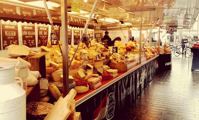 Dutch Food Cheese Market Foodporn