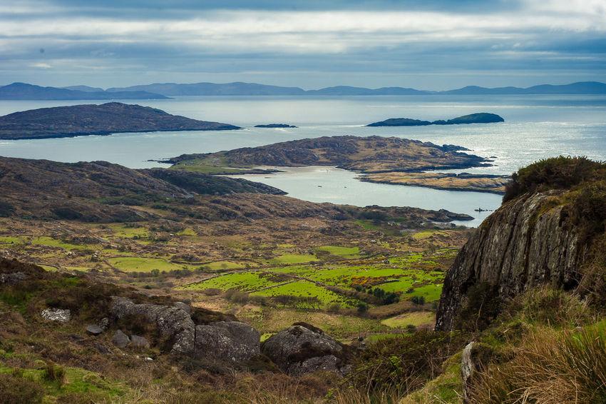 Beauty In Nature Cliffs Ireland Island Landscape Mountain Mountain Range Ring Of Kerry Sea