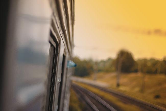 Mode Of Transport Road Russia Rzd Tourism Train Train Rails Transportation