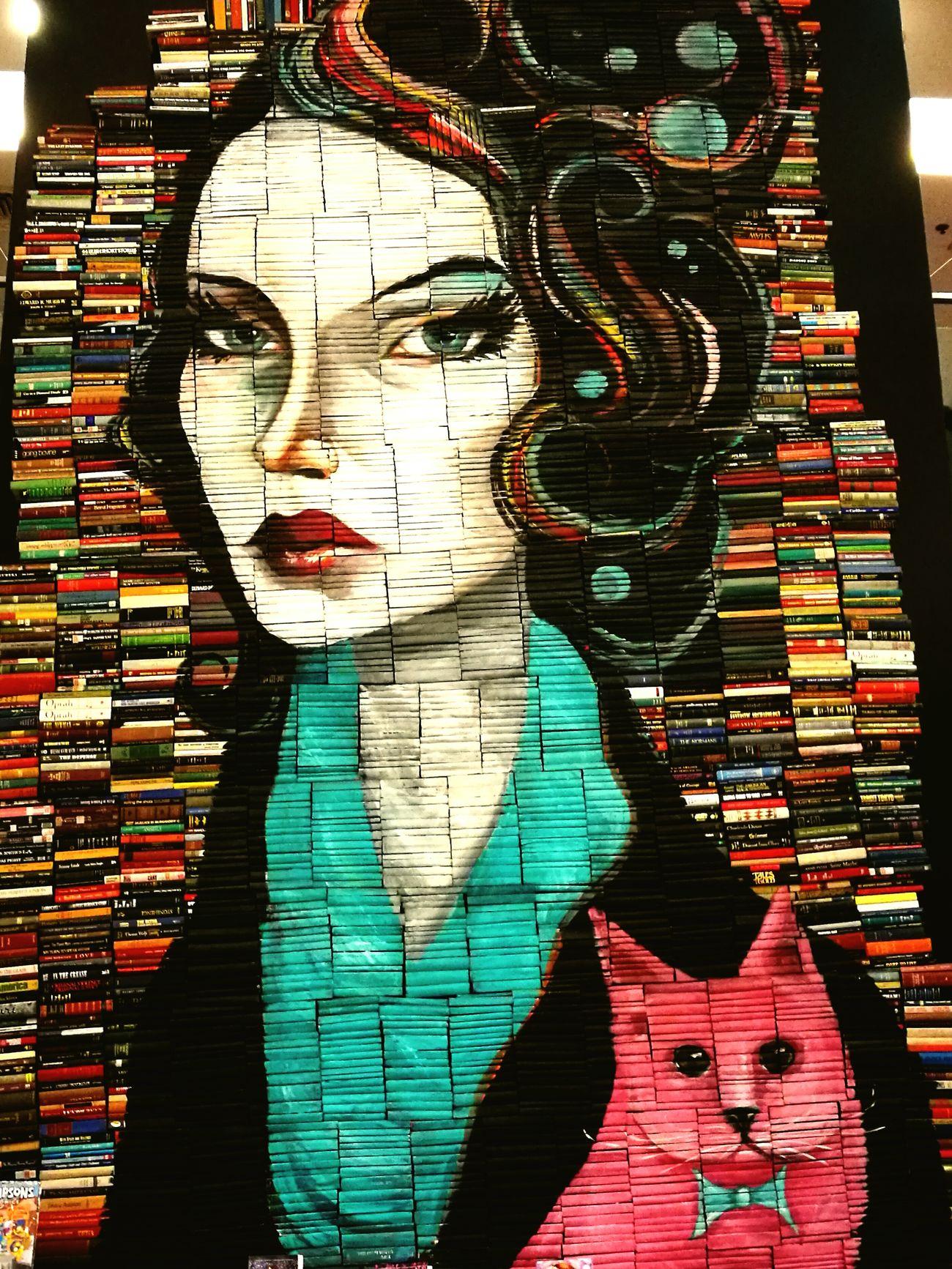 Art Multi Colored Creativity Art And Craft Book Books Bookstore Book Store Book Collections Bookporn Bookstagram Books ♥ Wallart Wall Art