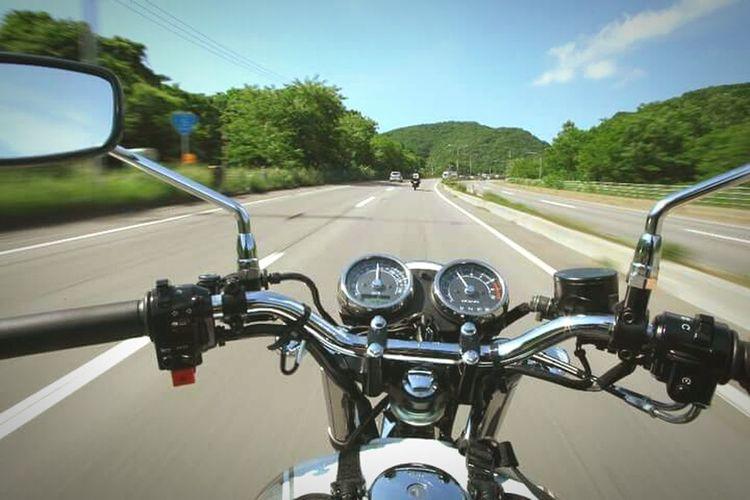 Mortorcycle Ride Road Kawasaki Transportation Street Travel Motion Speed Touring Touring Around Touringmotor Touringbike Hokkaido Japan Summer
