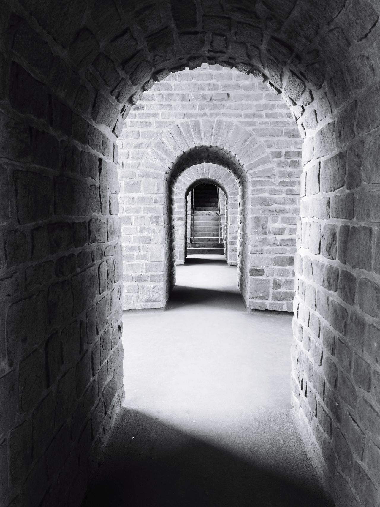 Welcome To Black Arch The Way Forward Architecture No People Indoors  Archway Built Structure History Tunnel Fort Day Bock Casemates, Luxembourg Streetphotography Luxembourg_Collection