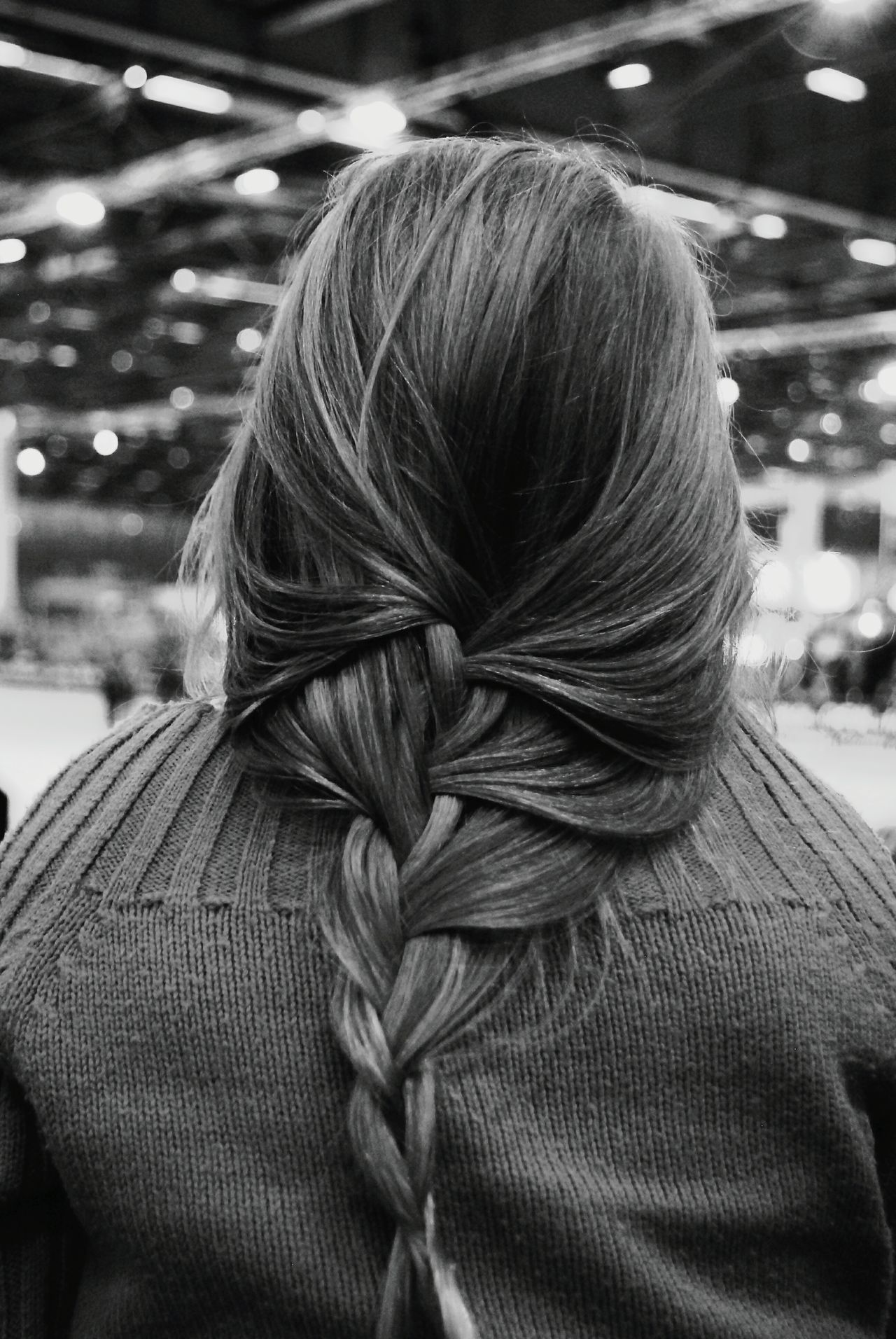 The Portraitist - 2017 EyeEm Awards Redhead Women Rear View Long Hair One Person Indoors  Sister Young Adult Close-up Plait Braided Hair Back Child