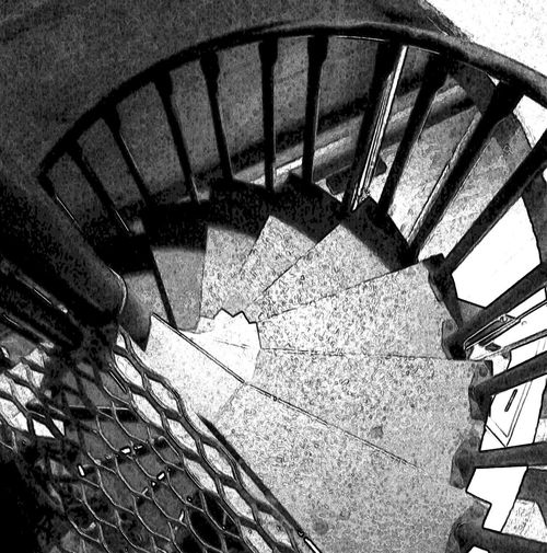 Ascending to run spotlight Architecture Built Structure Close-up Staircase Stairs Steps Steps And Staircases