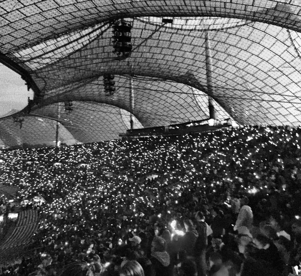 coldplay at munich Concert Concert Photography Event Munich Munich Architecture Coldplay Coldplay Concert  Blackandwhite Blackandwhite Photography Black And White Black And White Photography Tadaa Community Olympiastadion Emotions People People And Places
