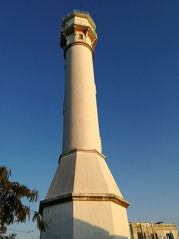 Retired beauty: Abandoned lighthouse Clear Sky Low Angle View Outdoors No People Sky Lighthouse Abandoned