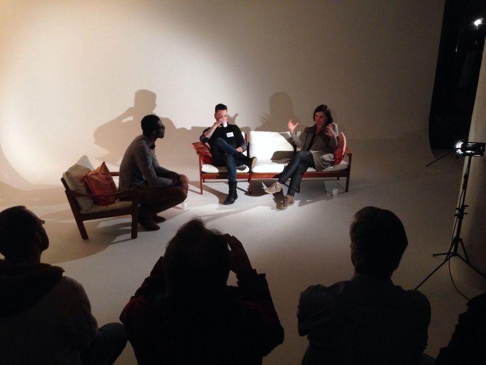 1st MCG event Mediacreativesgroup Panel Discussing