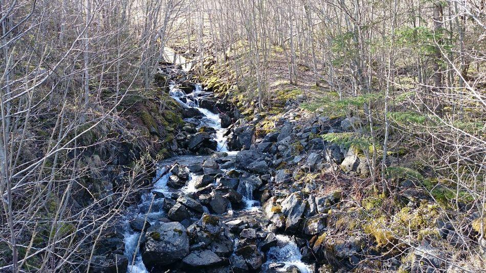 River Eide På Nordmøre Norway Hello World
