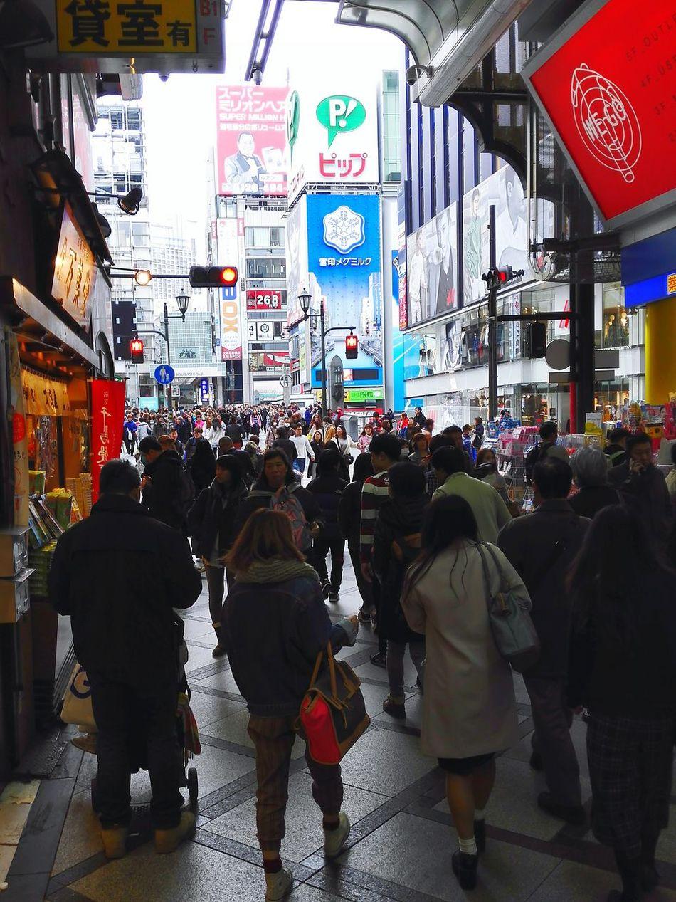 Street Photography Osaka,Japan OSAKA Shinsaibashi Suji Osaka 心斎橋筋