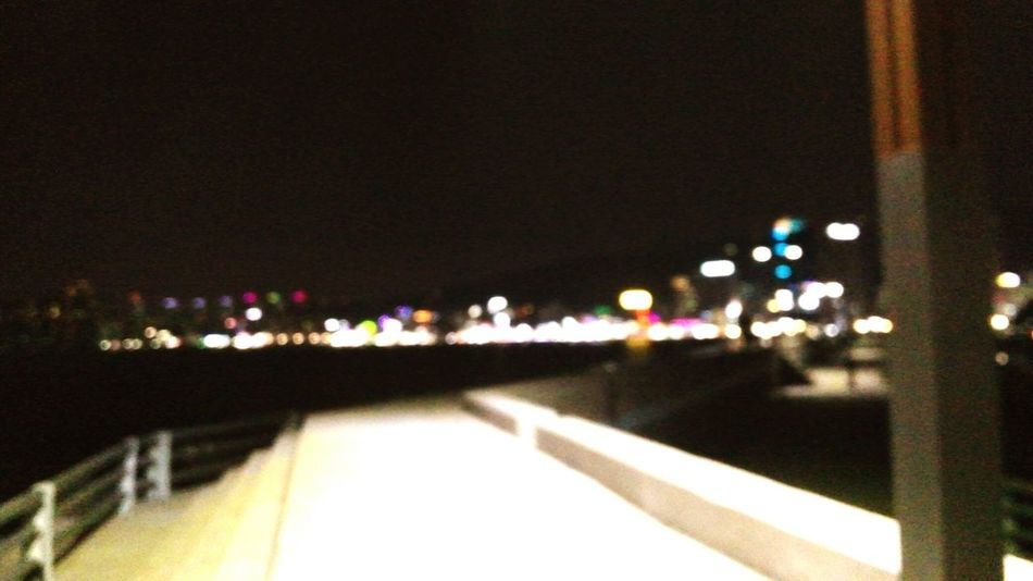 Night Lights Busan No Focus Blurred