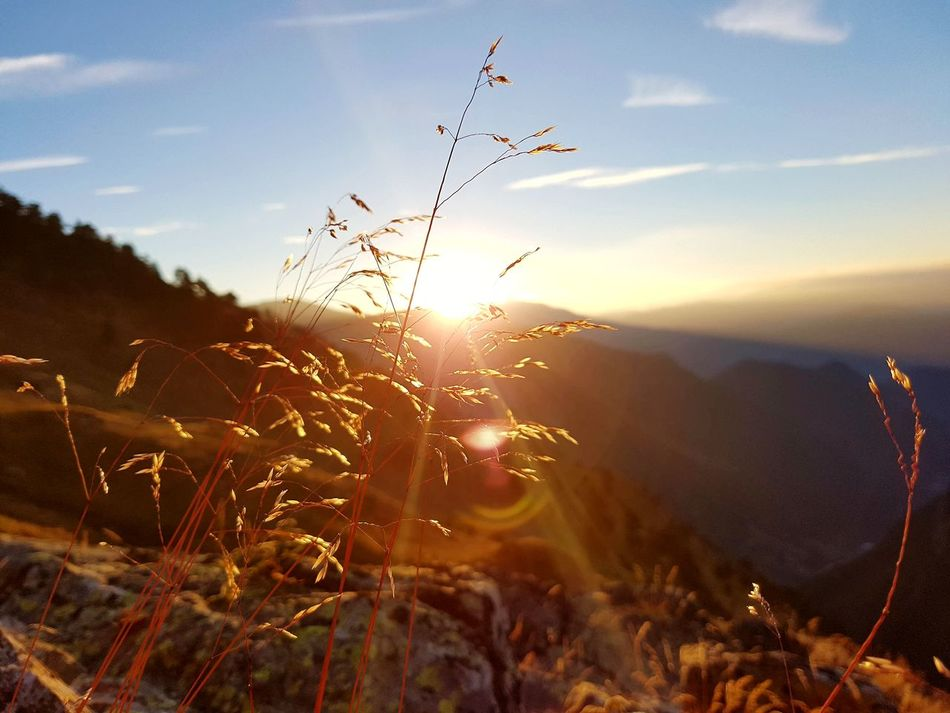 Samsung Photography Samsung Smart Camera Samsungphoto Samsung Galaxy S7 Edge Outdoors Mountain Beauty In Nature Nature Sunset Outdoor Pictures Pyrineos Postadesol Igniting Sky No People Day