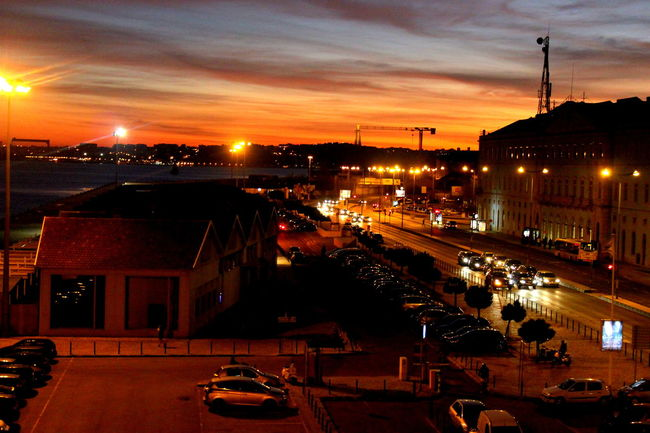Architecture Illuminated Lisboa Lisbon Lux Luxfragil Night Portugal Sunset