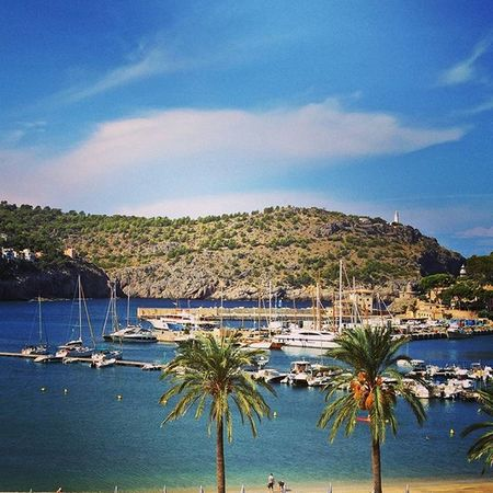 I'll miss this view, which is a good reason to return! 😉 Endlesssummer 😎 🌴 Vacationtweet Lifeisgood Portdesóller Mallorca Baleares Spain