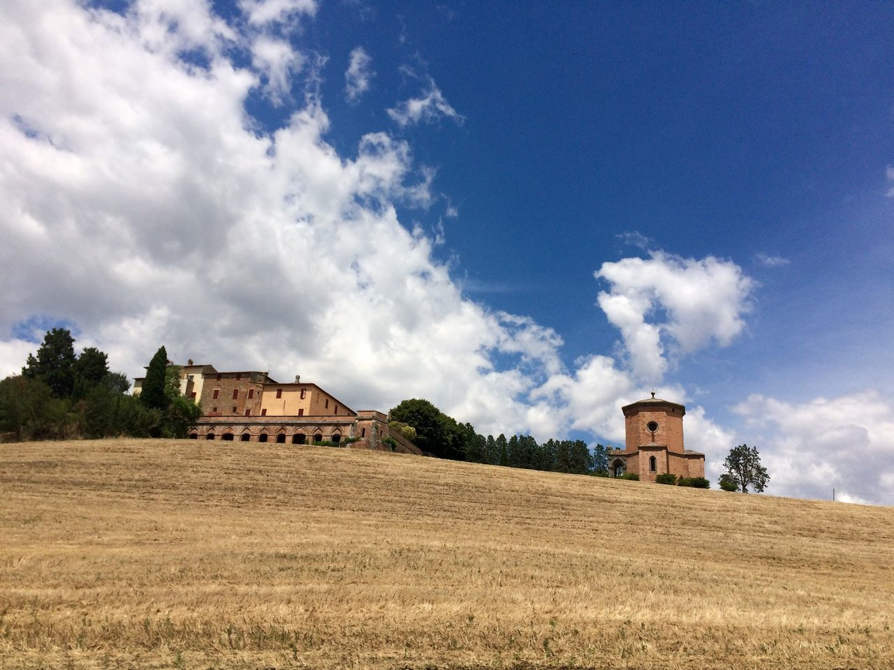 This Week On Eyeem Living Tuscany Clouds And Sky Field Church