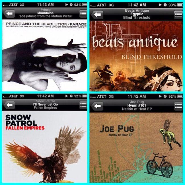 #whatimlisteningtorightnow The last four albums. #beatsantique = awesome Beatsantique Whatimlisteningtorightnow