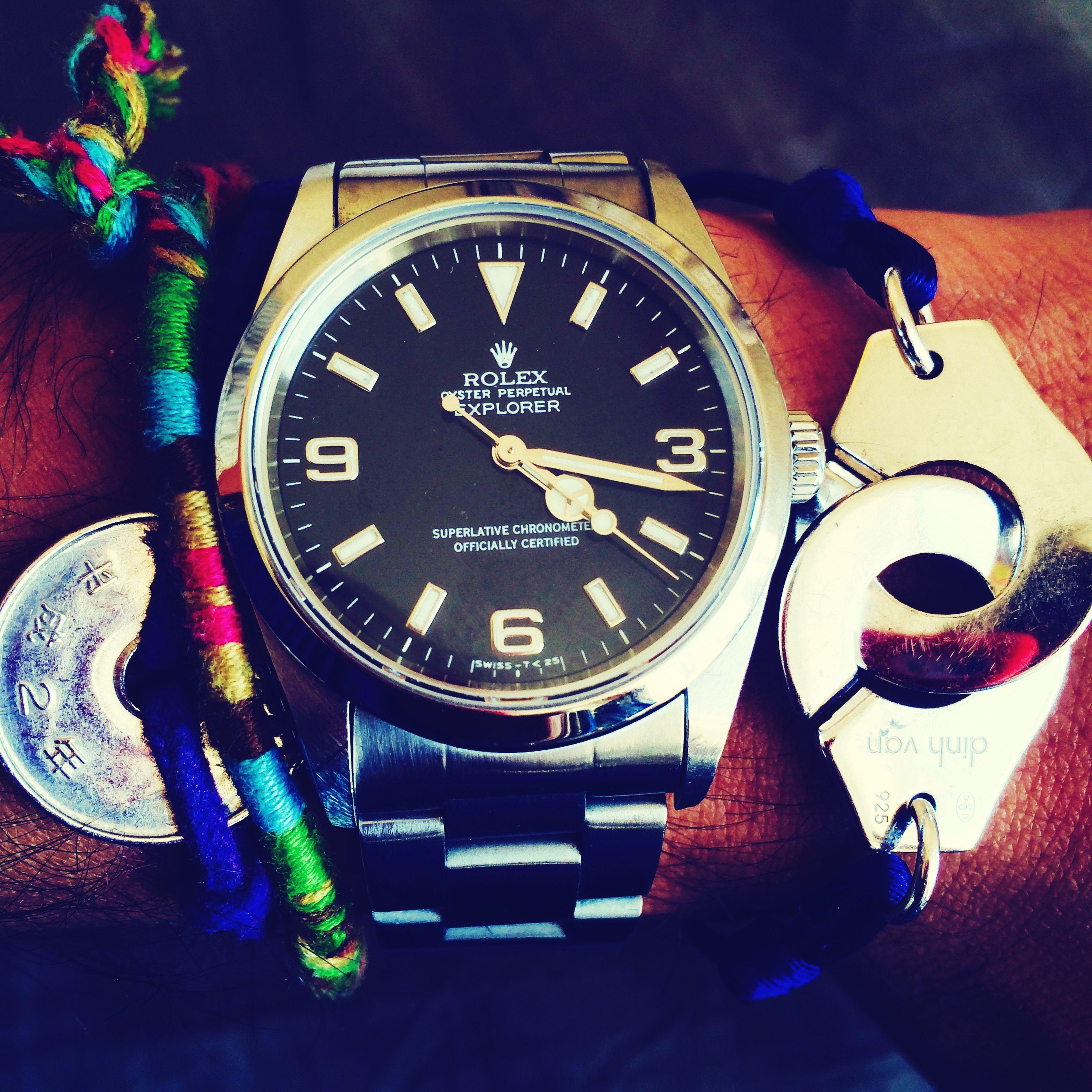 Rolex Explorer1 Dinhvan Lifestyle Luxury Luxe Luxurylifestyle  Mybabes  First Eyeem Photo