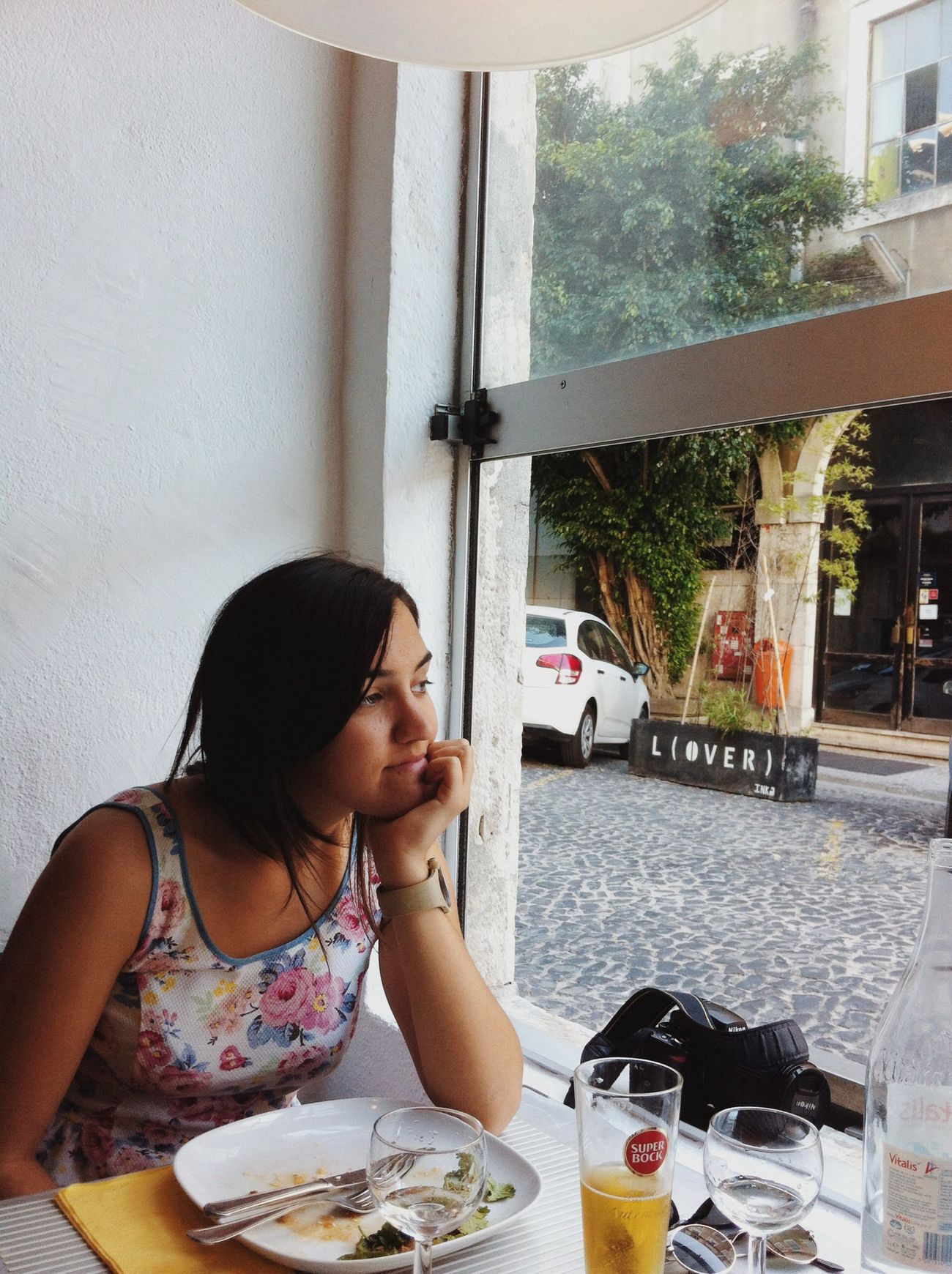we went to malasia today at lunch Lx Factory Lisbon Portugal